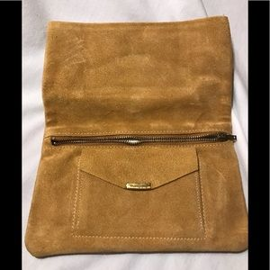 Handbags - Suede Clutch - Vintage